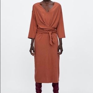 Zara Box Midi Dress